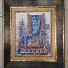Arte: ÓLEO SOBRE LIENZO FIRMADO (FRANCISCO) MORENO ORTEGA. Lote 163681834