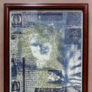 Arte: PROVA DI STAMPA. ABEL VALLMITJANA; ESCULTOR, GRABADOR, PINTOR, ETC. AÑO 1968. FIRMA A LÁPIZ.. Lote 163709014