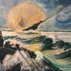 Arte: ARRANTZALES VASCOS EN EL GRAN SOL, GRAN FORMATO. Lote 163750778