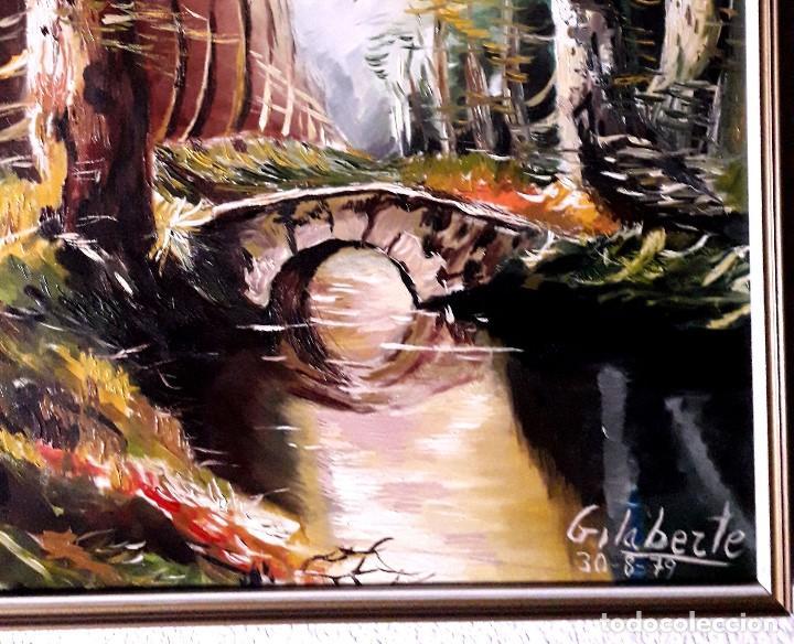 Arte: Puente obra de Gilaberte incluyo marco - Foto 3 - 163789282