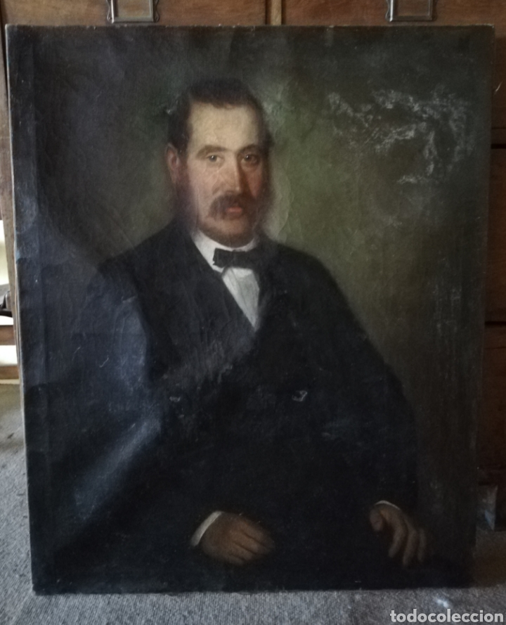 Arte: Retrato Escuela Francesa siglo XIX - Foto 2 - 163871670
