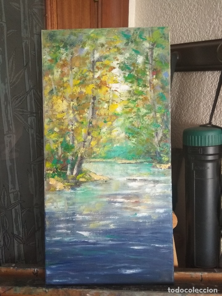 Arte: Pintura al óleo.Obra original de autor - Foto 2 - 163954854