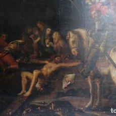 Arte: GRAN OLEO LIENZO ATRIBUIDO A JOSE MATEOS FERRER , LORCA. Lote 163962986