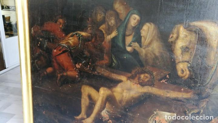 Arte: Gran oleo lienzo atribuido a Jose Mateos Ferrer , Lorca - Foto 3 - 163962986
