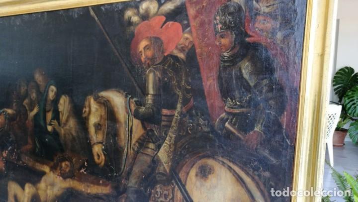 Arte: Gran oleo lienzo atribuido a Jose Mateos Ferrer , Lorca - Foto 5 - 163962986