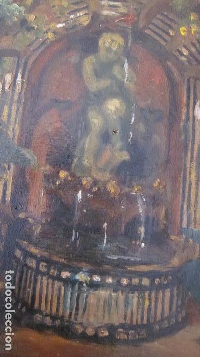 Arte: Pintura oleo sobre tela S-XIX sin firmar - Foto 3 - 164180034
