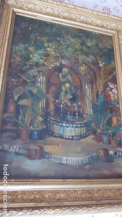PINTURA OLEO SOBRE TELA S-XIX SIN FIRMAR (Arte - Pintura - Pintura al Óleo Moderna siglo XIX)