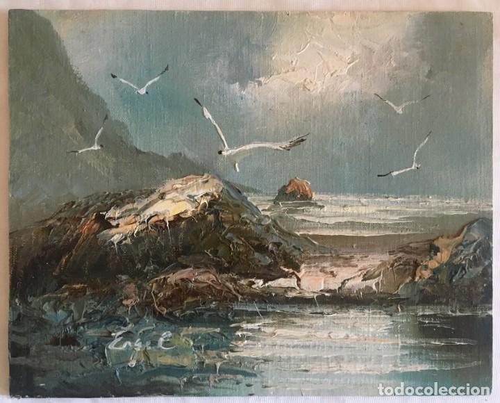 Arte: ESCUELA NORTEAMERICANA, SIGLO XX. Dos paisajes de Nueva Jersey - Foto 3 - 164250534