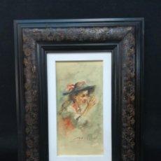 Arte: EL BURLON POR EL ARTISTA SALMANTINO CARLOS MERCHAN. Lote 164313886