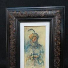 Arte: EL SABIO POR EL ARTISTA SALMANTINO CARLOS MERCHAN. Lote 164317150