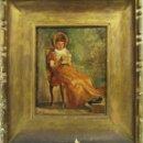 Arte: OLEO SOBRE LIENZO DE FELIX MESTRES BORRELL S. XIX-XX. Lote 164421990