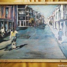 Arte: EXCELENTE OLEO, GRAN CALIDAD, FIRMA ILEGIBLE, ENMARCADO. 35X48CM. Lote 164689130