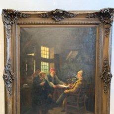 Kunst - CUADRO OLEO SOBRE LIENZO FIRMADO H.TIMMERMANS - 164722294