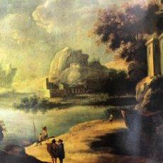 Arte: CUADRO/ PINTURA DE MURILLO. TITULO: PAESAGGIO. 1617-1682.. Lote 164731605