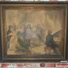 Arte: ANTIGUO OLEO SOBRE LIENZO FIRMADO GOUSEFF. Lote 165017902
