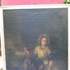 Arte: PASTORA OLEO/LIENZO SIGLO XVIII. Lote 165098082