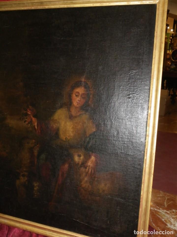 Arte: Pastora oleo/lienzo siglo XVIII - Foto 3 - 165098082