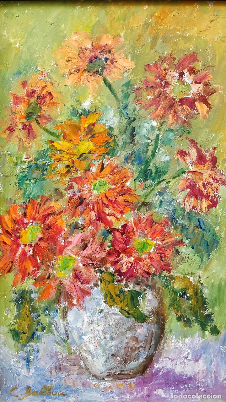 Arte: Maravilloso oleo sobre tabla, estilo impresionista, firmado, excelente pincelada - Foto 2 - 165179602