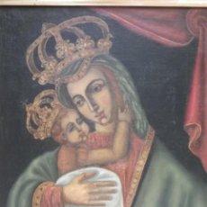 Arte: VIRGEN DE BELÉN, OLEO/LIENZO ANTIGUO. Lote 165185970