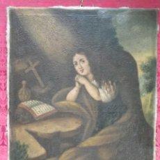 Arte - Magdalena penitente. óleo S-XVIII-XIX - 165188474
