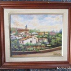 Arte: PRECIOSO ÓLEO SOBRE LIENZO, FIRMADO S. FONTANILLS / CABRILS 1990. Lote 165214998