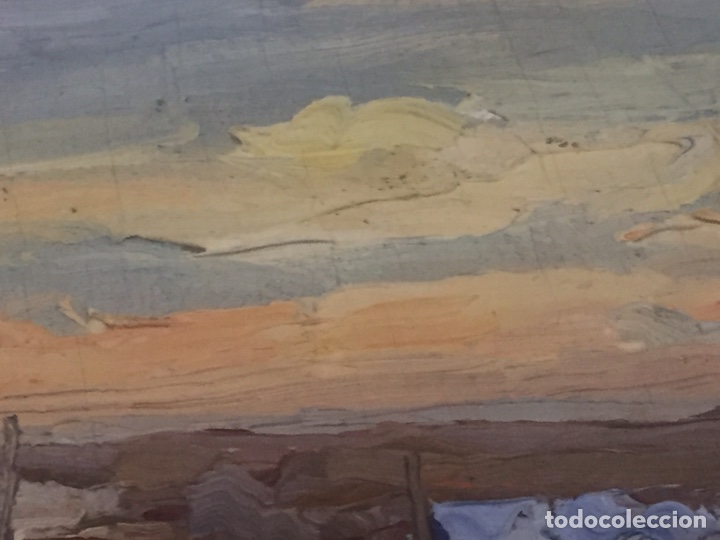 Arte: Óleo sobre tabla firmado Mir 19x13cm - Foto 15 - 165222420
