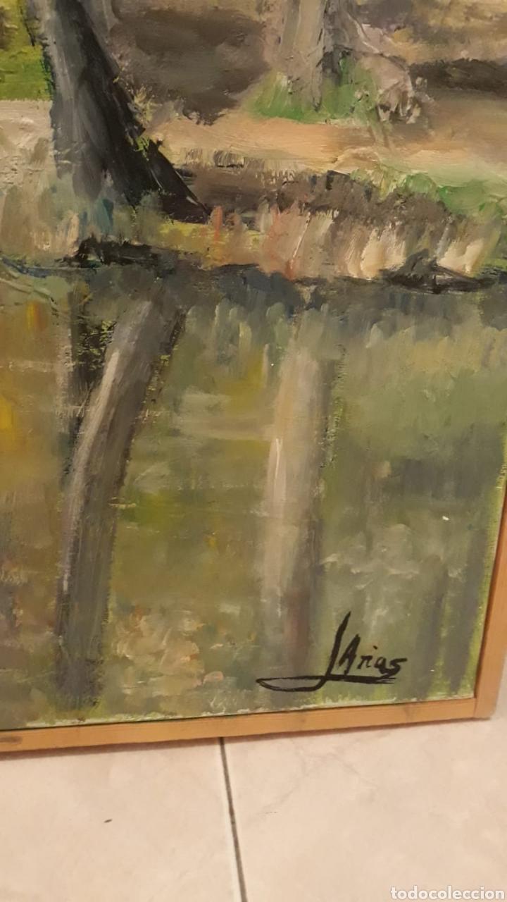 Arte: Cuadro grande pintura óleo lienzo paisaje naruraleza - Foto 2 - 165274977