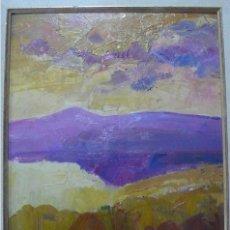 Arte: TARRASSO, OLEO SOBRE TABLA PAISAJE, FIRMADO. Lote 165359214