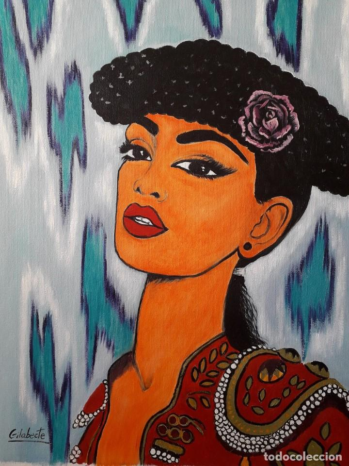 Arte: Torera obra de Gilaberte - Foto 3 - 165399534