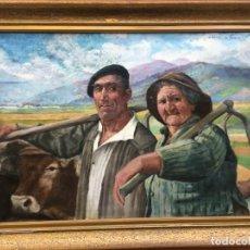 Arte: IBAÑEZ DE ALDECOA Y ARANO JULIÁN (1866-1952). PINTOR ESPAÑOL. OLEO SOBRE TELA.. Lote 165500202
