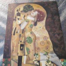 Arte: EL BESO, MAGNIFICA OBRA DE GUSTAV KLIMT. Lote 165528486