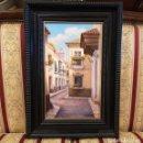 Arte: OLEO CALLE DE SEVILLA. Lote 165599798