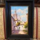 Arte: OLEO GIRALDA . Lote 165602010
