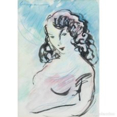Arte: CREIXAMS. FIGURA DE MUJER. Lote 165661586