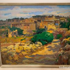 Arte: JUAN ANTONIO GARCÍA CALVENTUS 1945 BARCELONA, 72X60 20F. Lote 165689052
