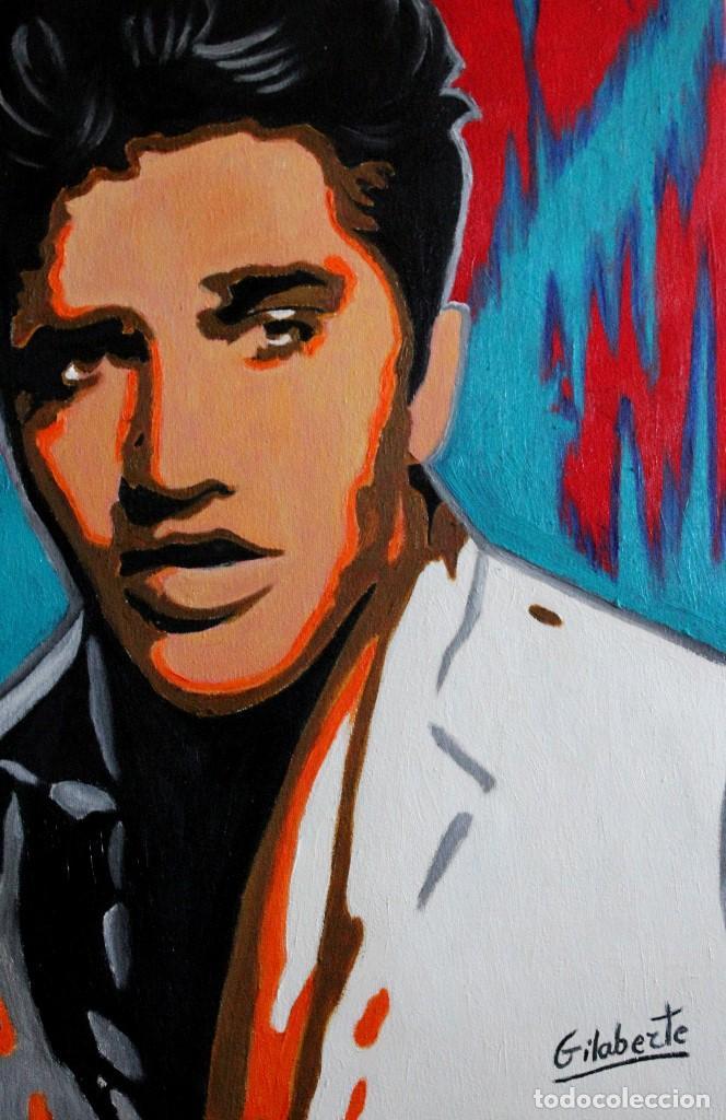 Arte: Elvis Presley obra de Gilaberte - Foto 2 - 165719710