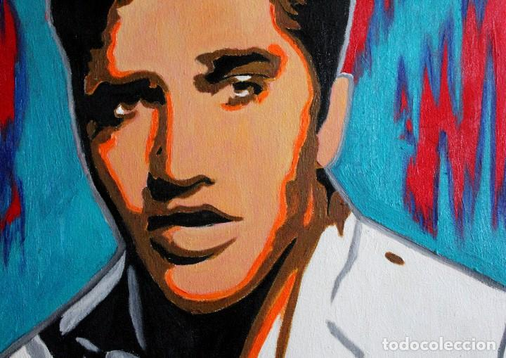 Arte: Elvis Presley obra de Gilaberte - Foto 3 - 165719710