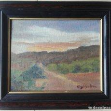 Arte: ANGEL BERTRAN MONTSERRAT (1.922-1.995) - ÓLEO SOBRE TELA ENMARCADO 33 X 28. Lote 165743738