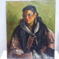 Arte: EXCELENTE ÓLEO DE VICENTE RINCÓN GARRIDO.MUCHA PASTA Y TRAZO SEGURO.. Lote 165794194