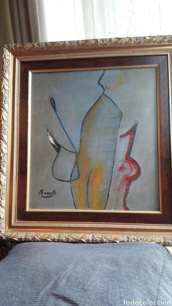 OLEO SOBRE TABLA ENMARCADO FIRMADO (Arte - Pintura - Pintura al Óleo Contemporánea )