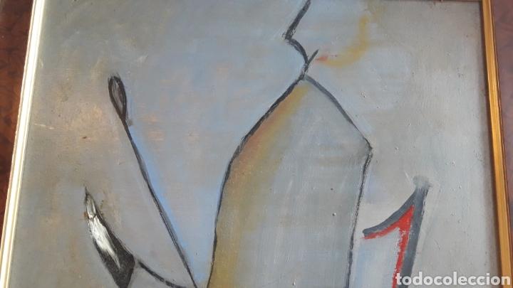Arte: OLEO SOBRE TABLA ENMARCADO FIRMADO - Foto 4 - 165834810