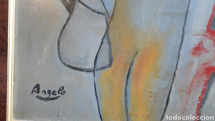 Arte: OLEO SOBRE TABLA ENMARCADO FIRMADO - Foto 3 - 165834810
