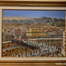 Arte: PINTURA NAIF DEL CAUTIVO DE MÁLAGA. PINTOR RITTWAGEN. Lote 165868202