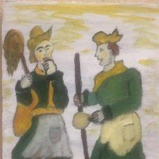 Arte: FIESTA SARDINA LOS DOS. Lote 165875346
