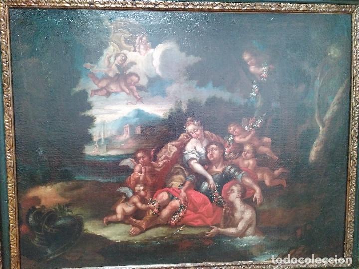 ESCUELA MALLORQUINA XVIII (Arte - Pintura - Pintura al Óleo Antigua siglo XVIII)