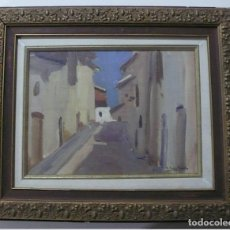 Arte: PUIG PERUCHO, OLEO SOBRE TABLA FIRMADO. Lote 165979034