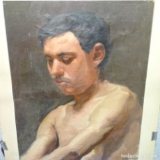 Arte: OLEO SOBRE TELA PINTOR A. QUERALT.ESTUDIO.BUEN TRAZO.. Lote 166057058