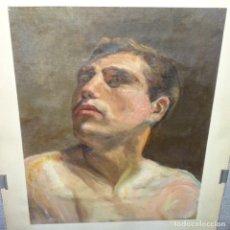 Arte: OLEO SOBRE TELA PINTOR A. QUERALT.ESTUDIO.BUEN TRAZO.. Lote 166057386