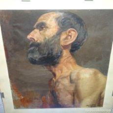 Arte: OLEO SOBRE TELA PINTOR A. QUERALT.ESTUDIO.BUEN TRAZO.. Lote 166057574