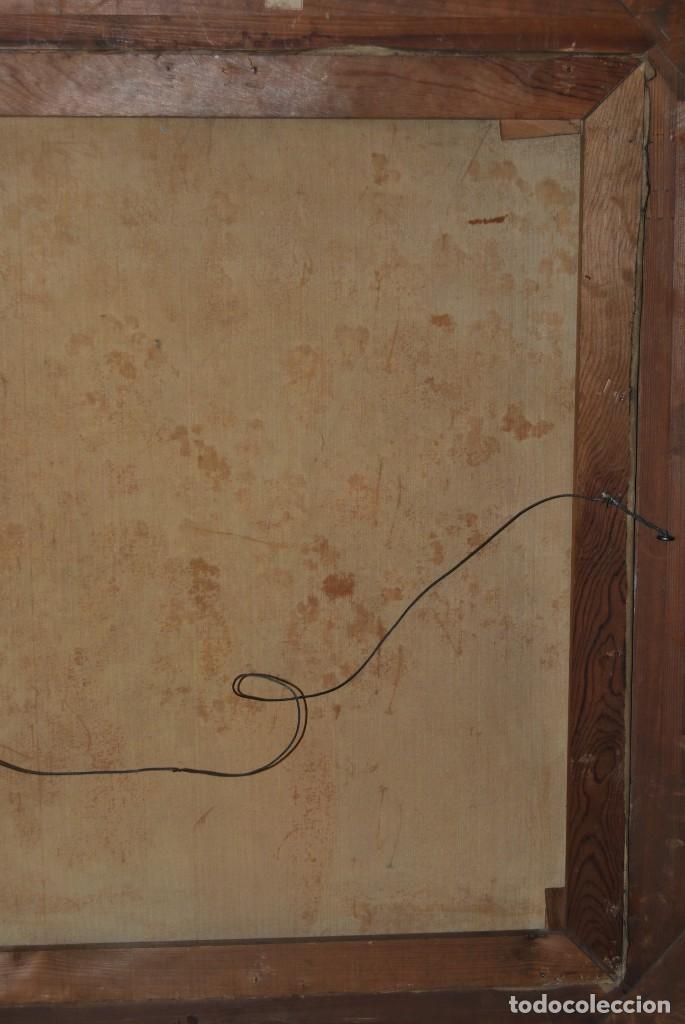 Arte: EXCELENTE ÓLEO SOBRE LIENZO - FIRMADO BARTH - ENMARCADO EN KÖLN, ALEMANIA -AÑOS 40 -FLORES - BODEGÓN - Foto 24 - 166090946